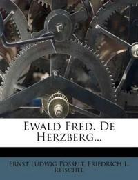 Ewald Fred. De Herzberg...