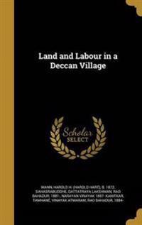 LAND & LABOUR IN A DECCAN VILL