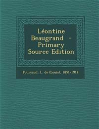 Léontine Beaugrand