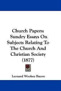 Church Papers