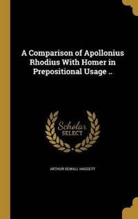 COMPARISON OF APOLLONIUS RHODI