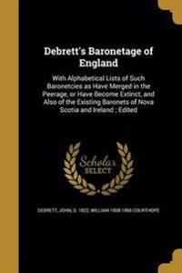 DEBRETTS BARONETAGE OF ENGLAND