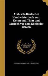 GER-ARABISCH-DEUTSCHES HANDWOR