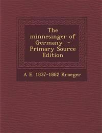 Minnesinger of Germany