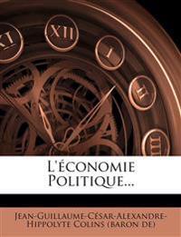 L'économie Politique...