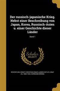 GER-RUSSISCH-JAPANISCHE KRIEG