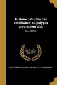 FRE-HISTOIRE NATURELLE DES COR