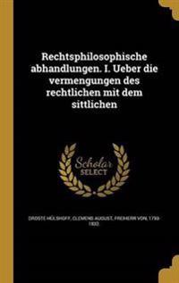 GER-RECHTSPHILOSOPHISCHE ABHAN