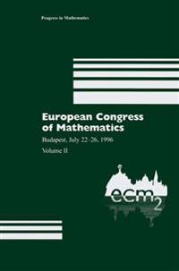 European Congress of Mathematics 1996
