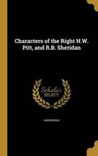 CHARACTERS OF THE RIGHT HW PIT