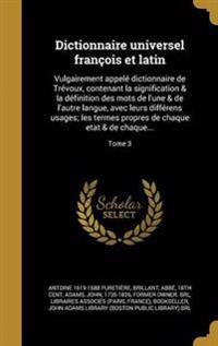 FRE-DICTIONNAIRE UNIVERSEL FRA