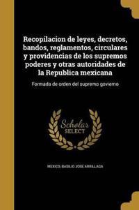 SPA-RECOPILACION DE LEYES DECR