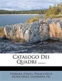 Catalogo Dei Quadri ......