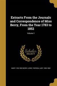 EXTRACTS FROM THE JOURNALS & C