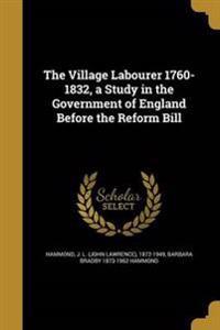 VILLAGE LABOURER 1760-1832 A S