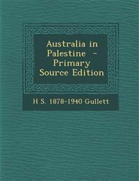 Australia in Palestine