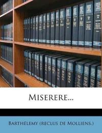 Miserere...