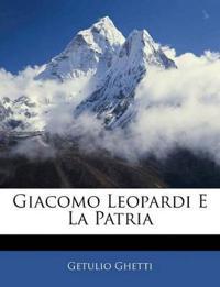 Giacomo Leopardi E La Patria