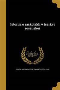 RUS-ISTORI I A O RASKOLAKH V T