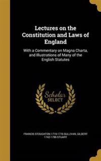 LECTURES ON THE CONSTITUTION &