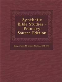 Synthetic Bible Studies - Primary Source Edition