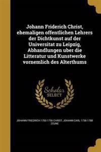 GER-JOHANN FRIDERICH CHRIST EH