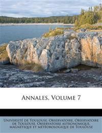 Annales, Volume 7