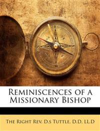 Reminiscences of a Missionary Bishop