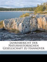 Jahresbericht der Naturhistorischen Gesellschaft zu Hannover Volume 26 (1875-1876)