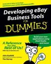 Developing eBay Business Tools for Dummies [With CDROM]
