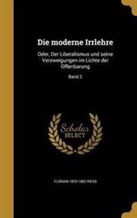 GER-MODERNE IRRLEHRE