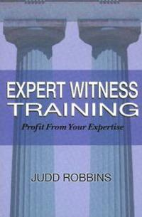 Expert Witness Training