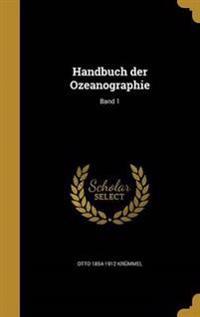 GER-HANDBUCH DER OZEANOGRAPHIE