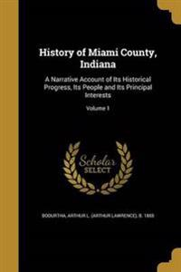HIST OF MIAMI COUNTY INDIANA