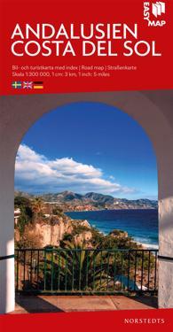 Andalusien Costa del Sol EasyMap : Skala 1:300.000