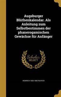 GER-AUGSBURGER BLUTHENKALENDAR