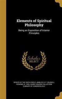 ELEMENTS OF SPIRITUAL PHILOSOP