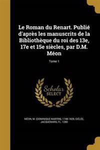 FRE-ROMAN DU RENART PUBLIE DAP