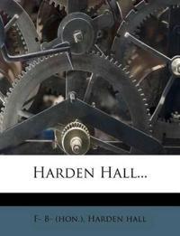 Harden Hall...