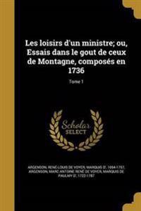 FRE-LES LOISIRS DUN MINISTRE O