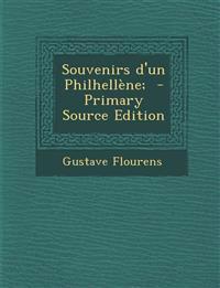 Souvenirs d'un Philhellène;