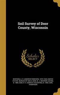 SOIL SURVEY OF DOOR COUNTY WIS