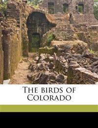 The birds of Colorado