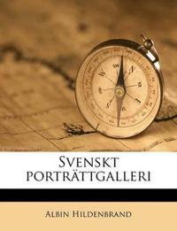 Svenskt porträttgalleri Volume 25, pt.1