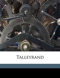 Talleyrand Volume 2