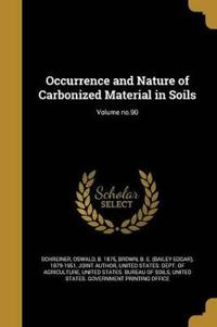 OCCURRENCE & NATURE OF CARBONI