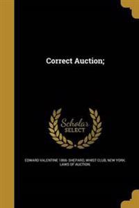 CORRECT AUCTION