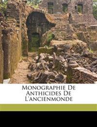 Monographie de Anthicides de l'ancienmonde
