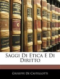 Saggi Di Etica E Di Diritto