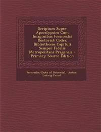 Scriptum Super Apocalypsim Cum Imaginibus (wenceslai Doctoris): Codex Bibliothecae Capituli Semper Fidelis Metropolitani Pragensis